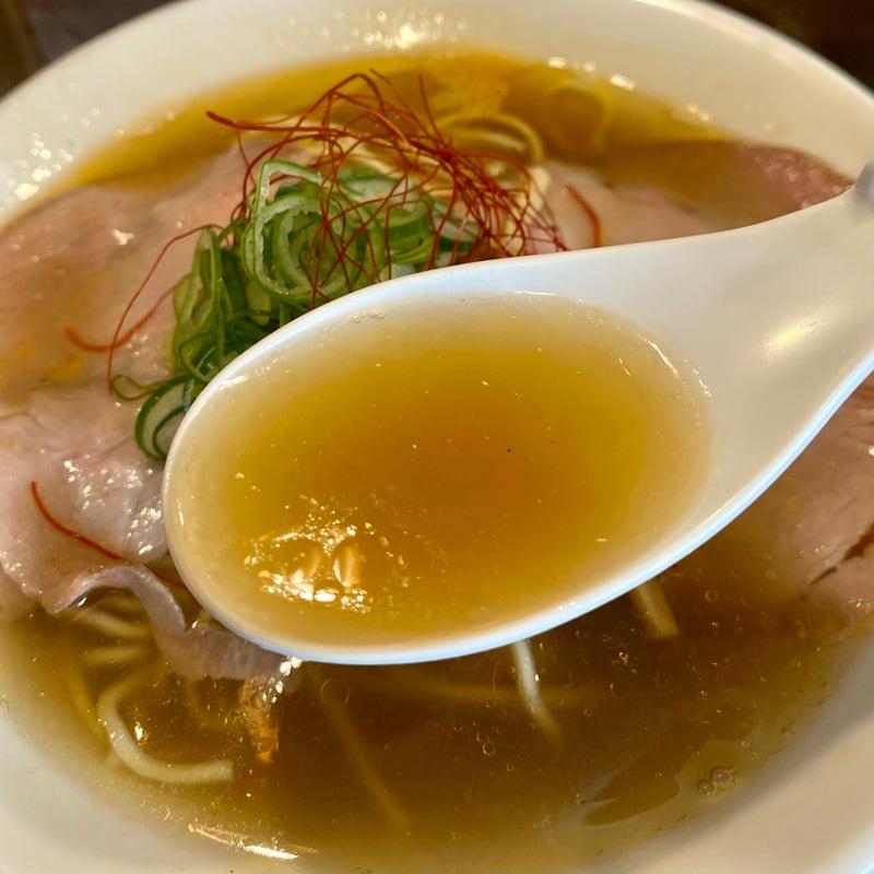 ラゥメン大地 秋田県秋田市東通 塩らぅめん 海老ラーメン スープ
