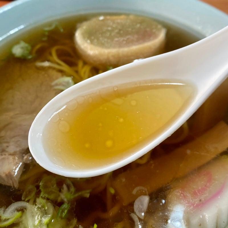 えびすや食堂 大衆食堂 えびす屋 秋田県北秋田市米内沢 中華そば スープ