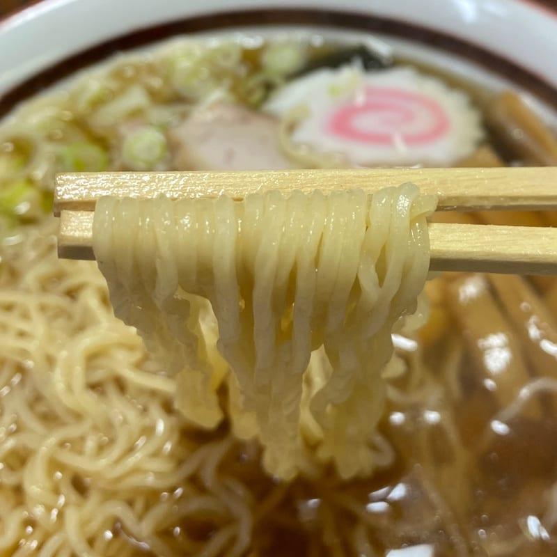 横町食堂 秋田県由利本荘市東町 ラーメン 麺