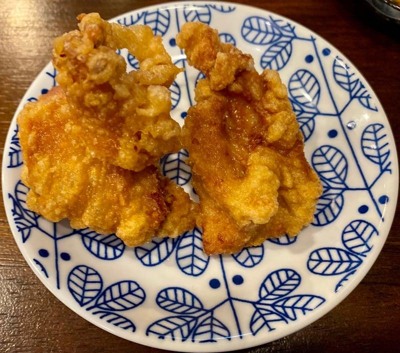 竹本モンスターチャンポン 秋田県秋田市山王 無料 特製ザンギ 鶏の唐揚げ
