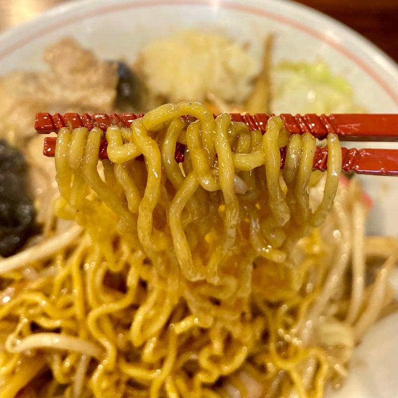 竹本モンスターチャンポン 秋田県秋田市山王 上海炒まぜそば 自家製麺