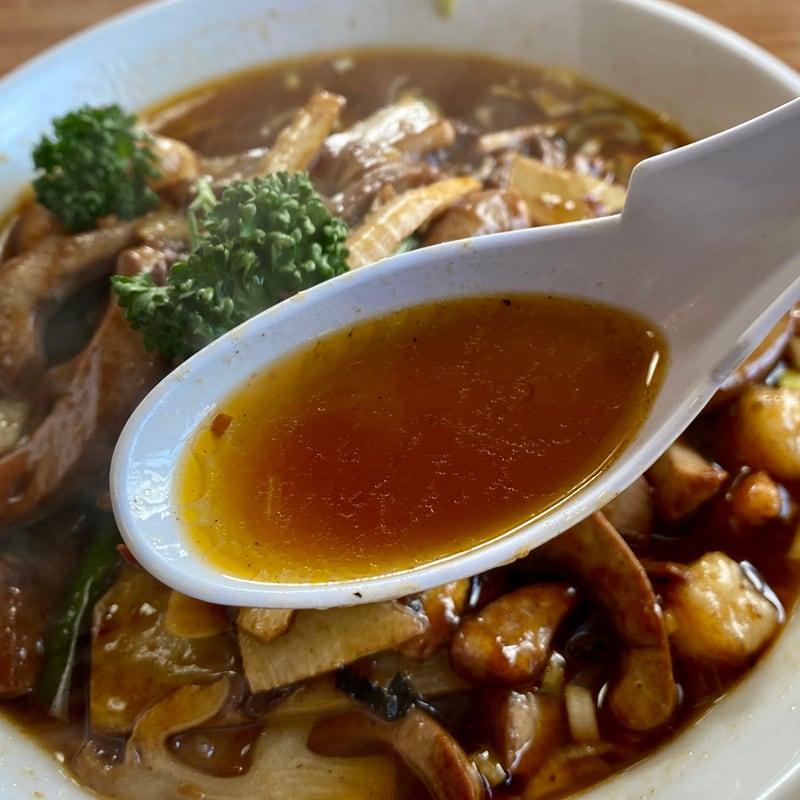 中国料理 盛 さかり 秋田県秋田市八橋 蝦腰湯麺 エビ豚マメめん スープ