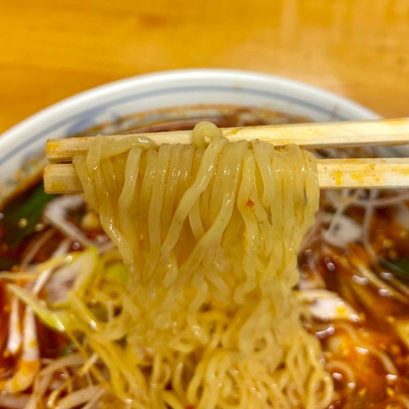 らーめん へのかっぱ 秋田県横手市駅前町 かっぱ坦々麺 担々麺 麺