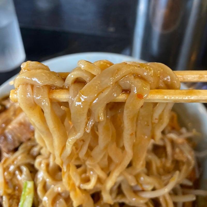 ラーメン マシンガン 秋田県秋田市広面 カレーそば 辛そば味 チェダーチーズ 自家製麺