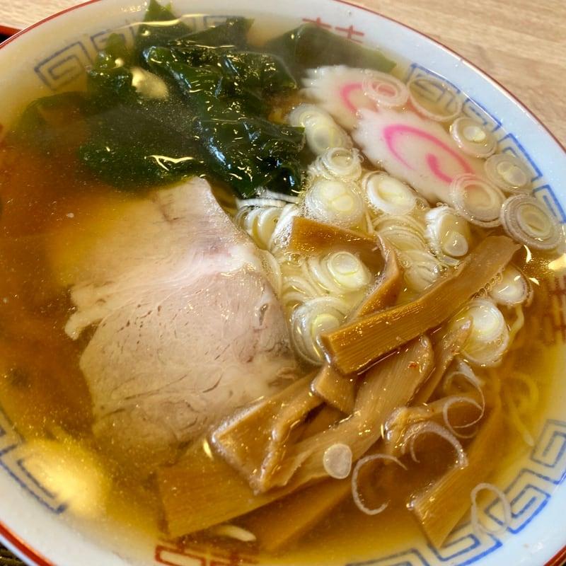 亀寿司食堂 かめずししょくどう 秋田県男鹿市北浦 醤油ラーメン 具