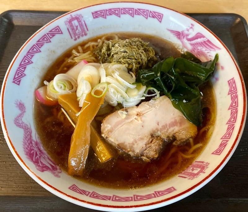 和食 三吉 さんきち 秋田県仙北市角館町小勝田 特製ラーメン 醤油ラーメン