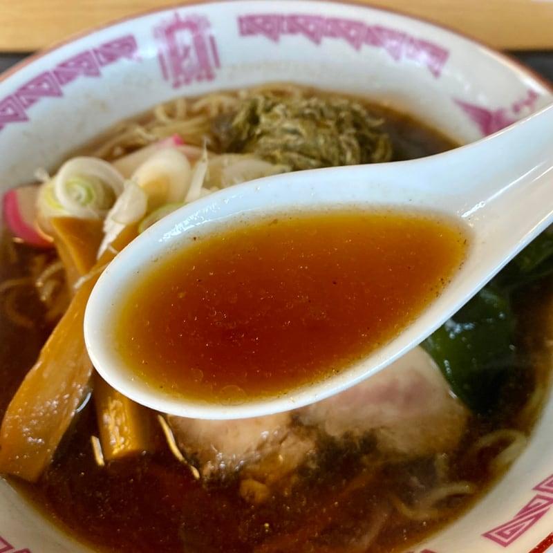 和食 三吉 さんきち 秋田県仙北市角館町小勝田 特製ラーメン 醤油ラーメン スープ