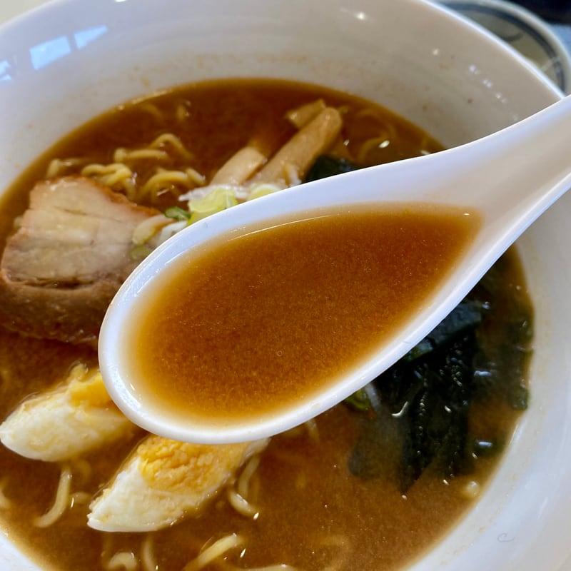 お食事処 花河童 秋田県山本郡三種町森岳 味噌ラーメン スープ