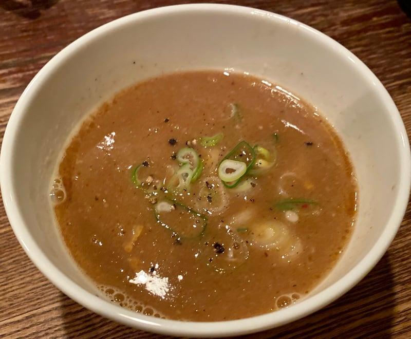 BAR JAH ジャー 秋田県秋田市大町 比内地鶏のしずく 限定つけ麺 つけ汁 スープ