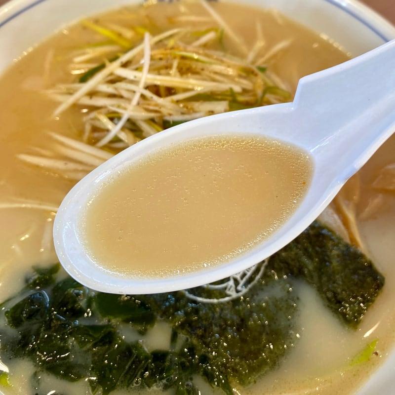 ラーメンショップAji-Q アジキュー 片山店 秋田県大館市片山 南蛮ラーメン スープ