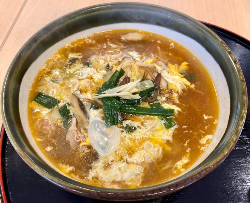 ダイニング福八 秋田県山本郡八峰町八森 スーラータンメン 酸辣湯麺