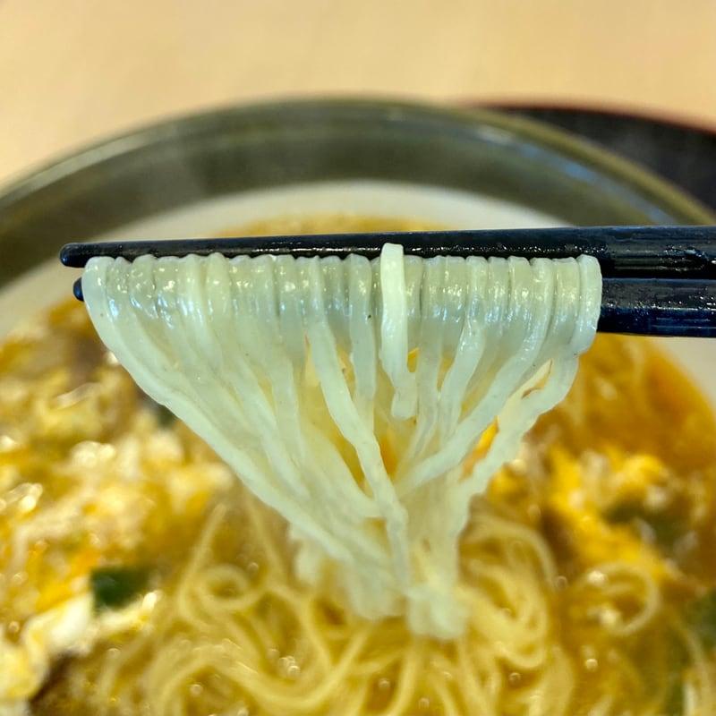 ダイニング福八 秋田県山本郡八峰町八森 スーラータンメン 酸辣湯麺 麺