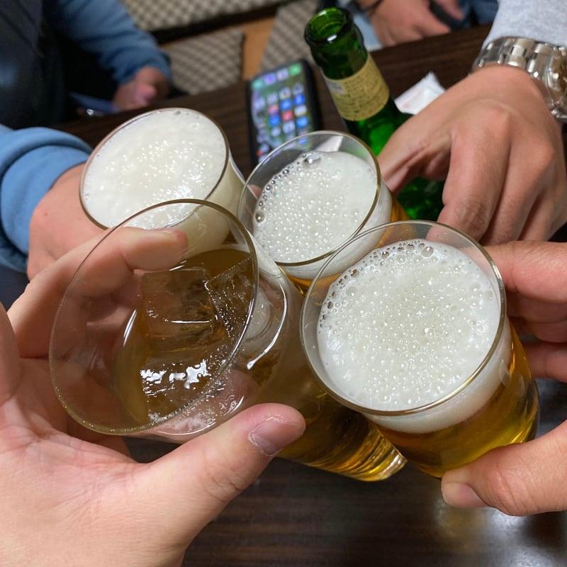 ビストロ桜舞 おうぶ 秋田県湯沢市柳町 練習 乾杯