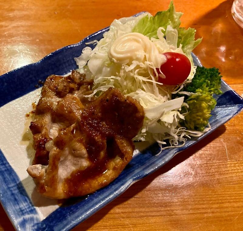 昭和の店 美里 秋田県横手市中央町 晩酌セット 豚のしょうが焼き 生姜焼き