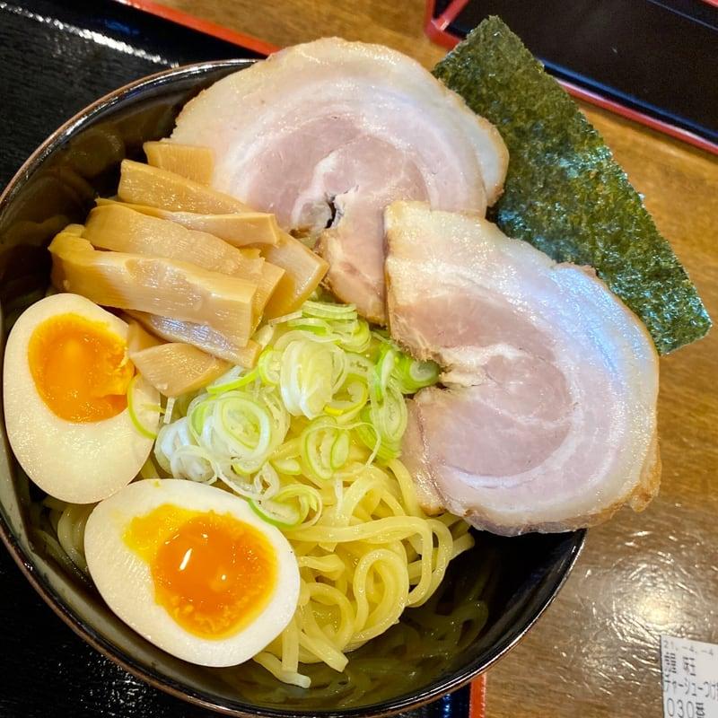 ドライブイン虎屋 とらや 秋田県大館市岩瀬 虎屋味玉チャーシューつけ麺 特製味噌つけめん 具