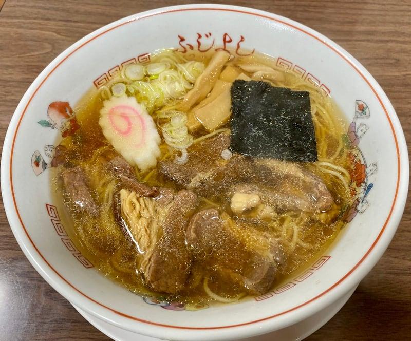 ふじよし 秋田県北秋田市花園町 肉ラーメン 馬肉ラーメン