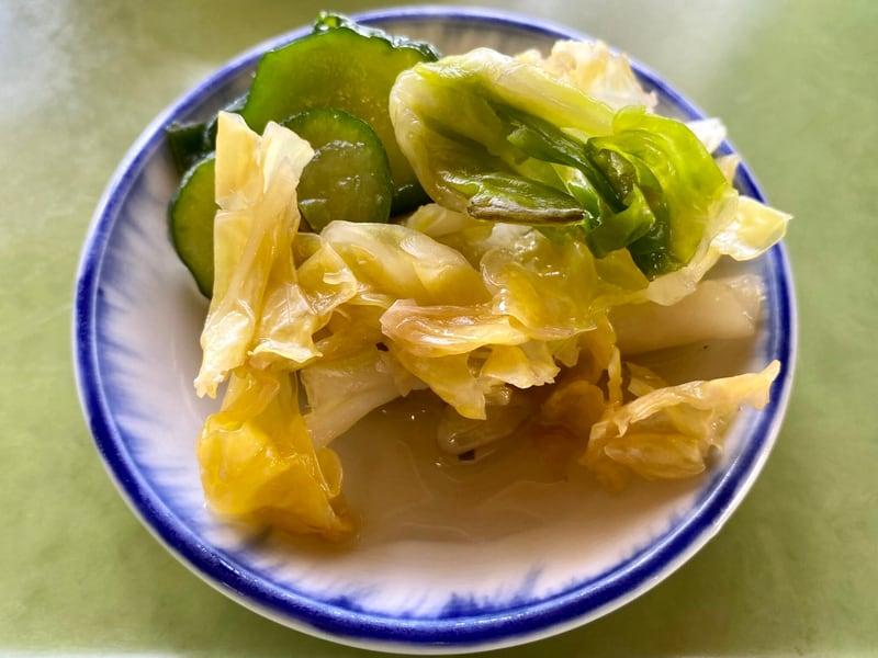 ドライブイン ヨッホー 秋田県鹿角市八幡平 ピリ辛味噌ラーメン 漬け物