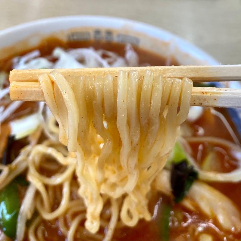 ドライブイン両国 秋田県鹿角市八幡平 キムチラーメン 麺