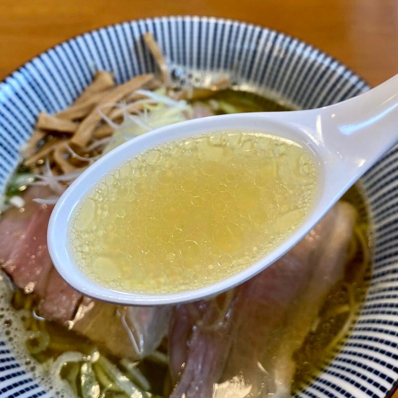 らーめん福禄寿 秋田県秋田市土崎港東 白醤油らーめん スープ
