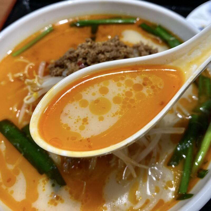 台湾料理 六順園 大曲店 秋田県大仙市大曲住吉町 豚骨台湾ラーメン スープ