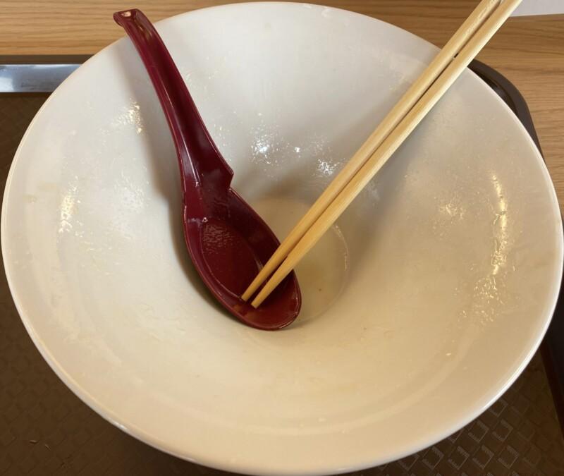 めん処 きよ洲 きよす 岩手県盛岡市三本柳 ほろほろ鳥とぶたらぁめん 塩ラーメン 完食