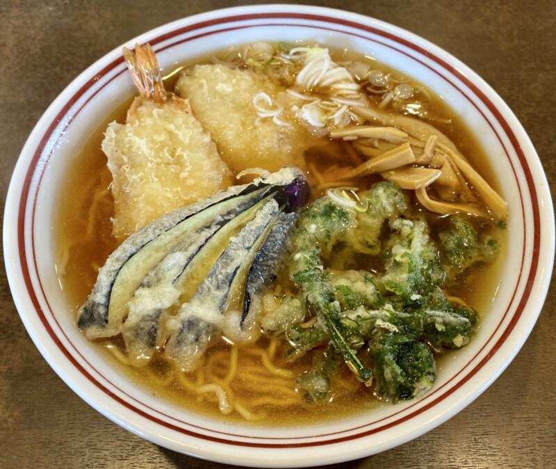 お食事みその 食堂みその 山形県鶴岡市みどり町 天ぷらラーメン