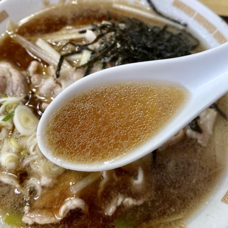 東京庵 山形県鶴岡市本町 豚中華 スープ