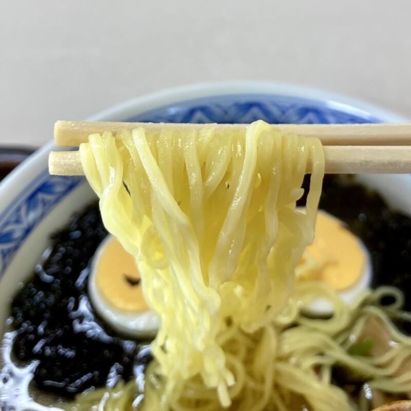寒風山食堂 白山 秋田県男鹿市脇本富永 男鹿の岩のりラーメン 岩海苔ラーメン 麺