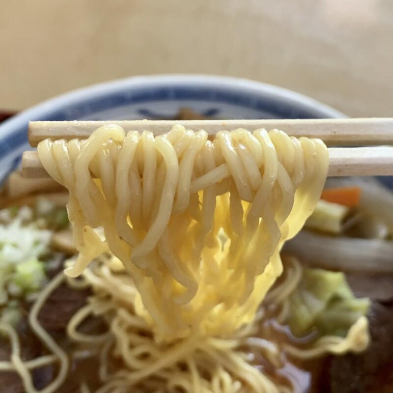 レストハウス白神 秋田県山本郡藤里町粕毛 素波里園地内 ラーメン 馬肉ラーメン 麺