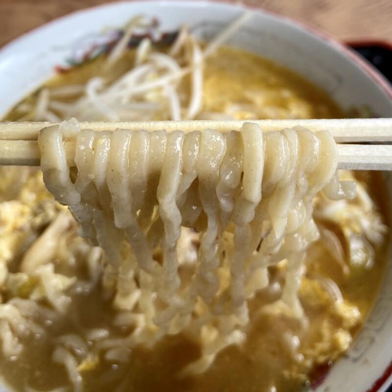 ドライブイン下野 秋田県鹿角郡小坂町小坂 小坂かつらーめん カツラーメン 麺