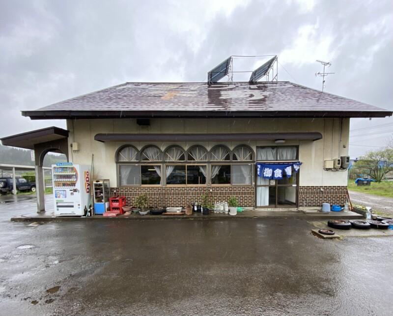 ドライブイン下野 秋田県鹿角郡小坂町小坂 外観