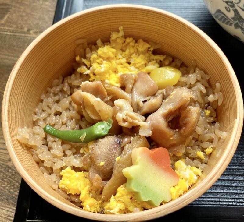 御食事処 花善 はなぜん 秋田県大館市御成町 比内地鶏塩ラーメン 鶏めしセット 鶏飯