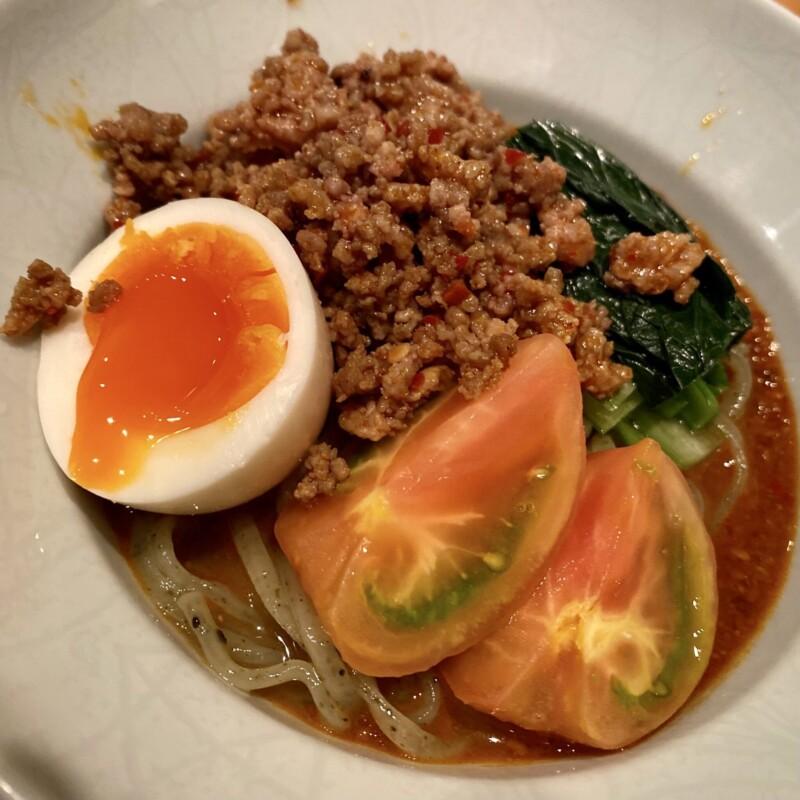 日本料理たかむら 秋田県秋田市大町 たかむら麺type2 冷やし坦々麺 具
