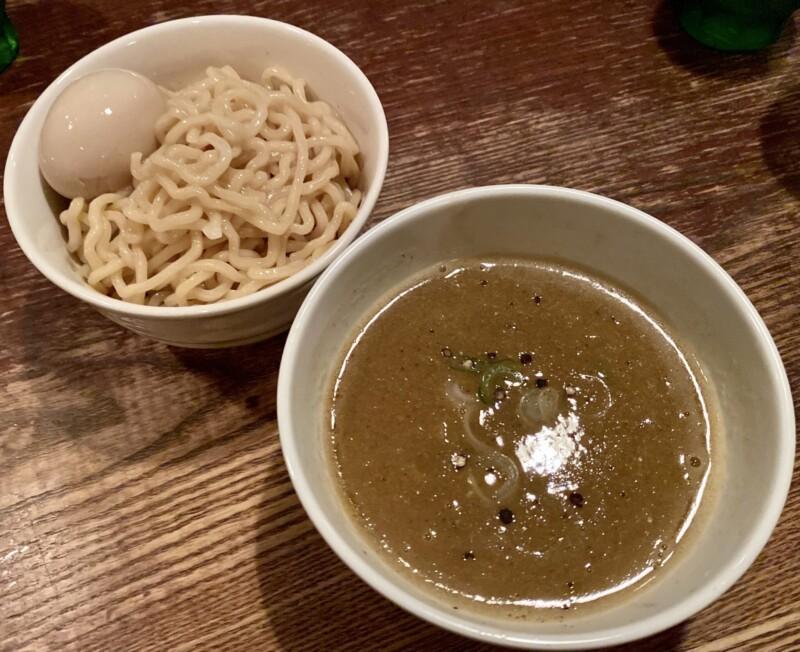 BAR JAH ジャー 秋田県秋田市大町 特製つけめん つけ麺 味付けたまご 味玉