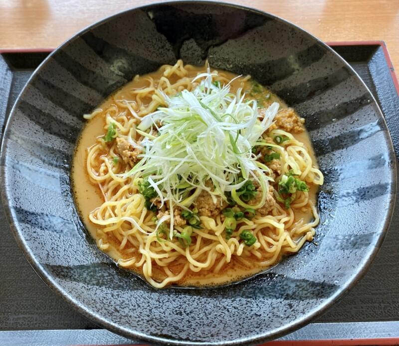 レストラン眺海(ちょうかい)@秋田県にかほ市象潟町 道の駅象潟 ねむの丘2F 冷やし坦々麺