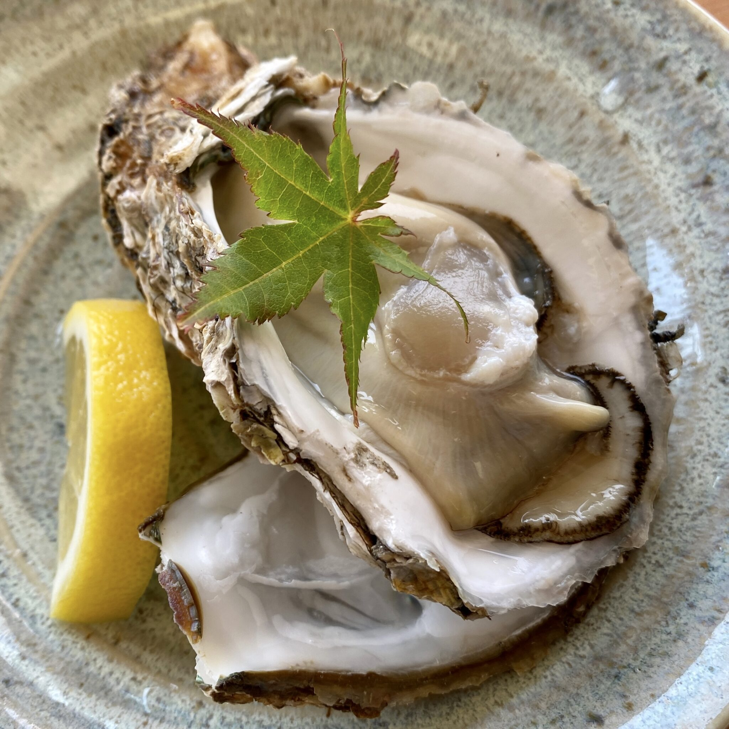 レストラン眺海(ちょうかい)@秋田県にかほ市象潟町 道の駅象潟 ねむの丘2F 岩牡蠣 岩かき