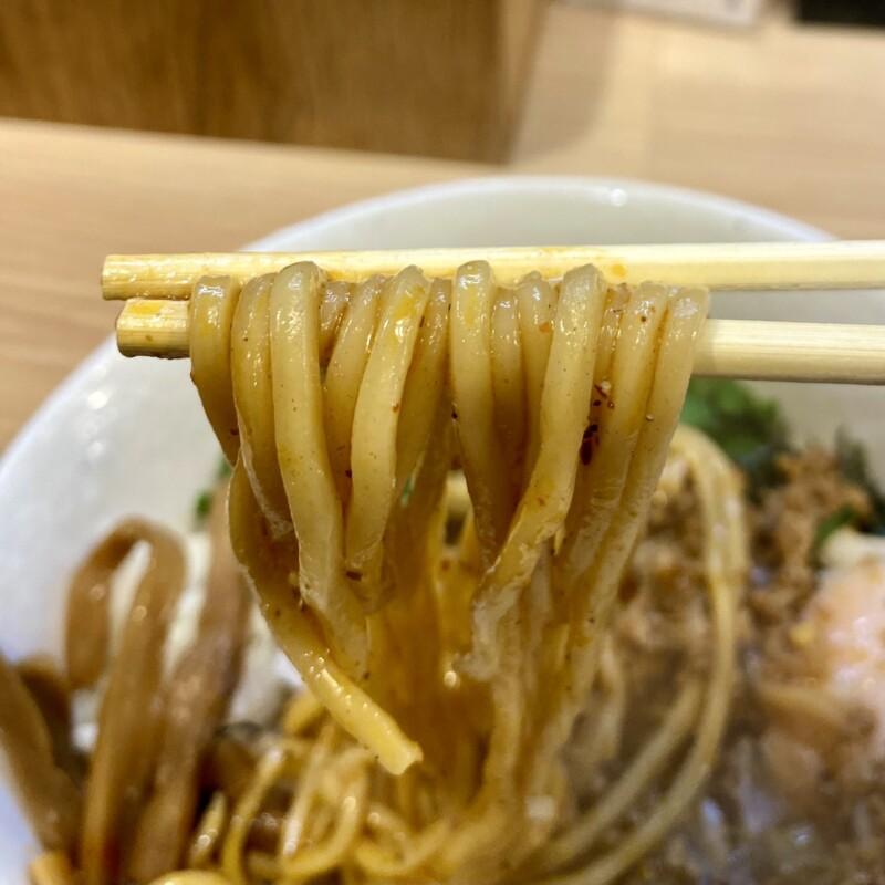 麺屋とんぼ庵 秋田県秋田市中通 台湾まぜそば 並 自家製麺