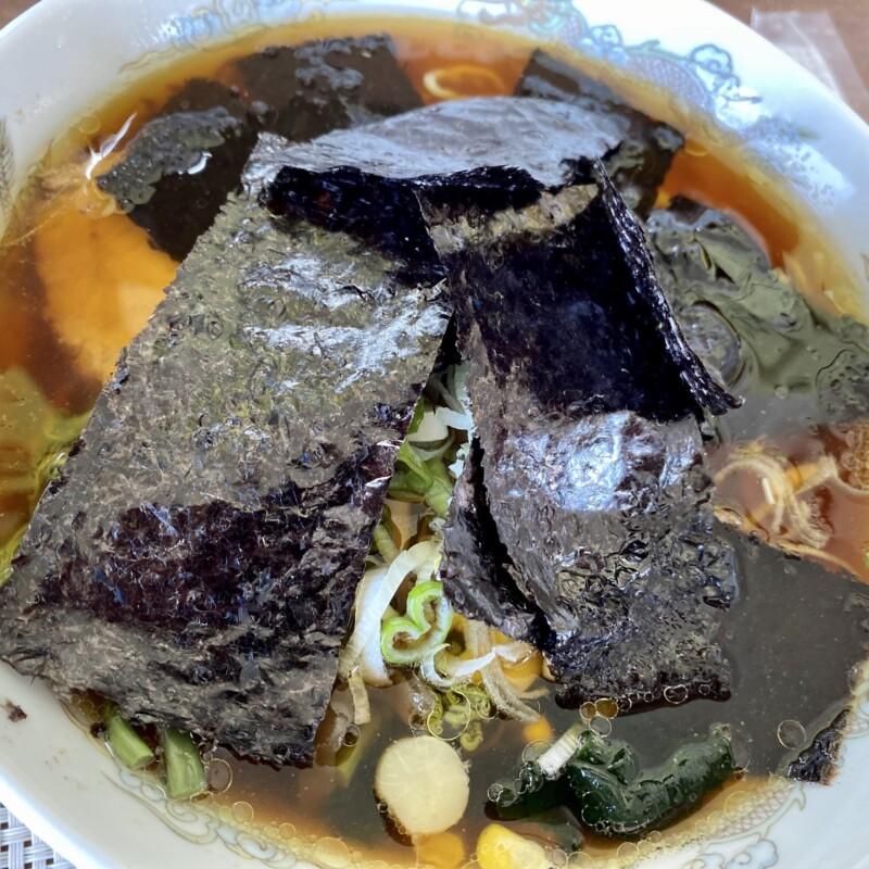 ザ・ラーメンのりさん 秋田県鹿角市十和田毛馬内 のりさんラーメン 醤油ラーメン 具