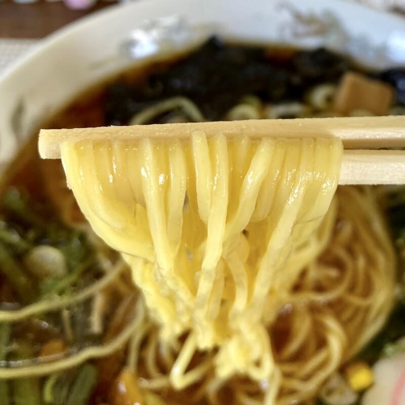 ザ・ラーメンのりさん 秋田県鹿角市十和田毛馬内 のりさんラーメン 醤油ラーメン 麺