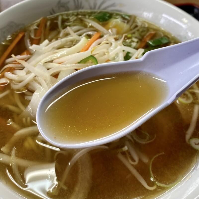 大衆食堂 秋田県大館市比内町扇田 味噌ラーメン スープ