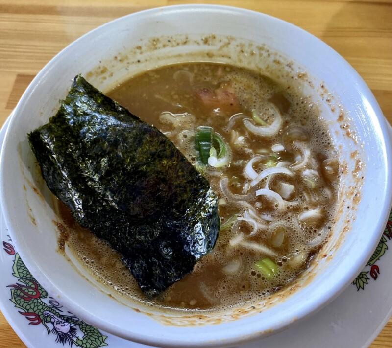 らーめん萬亀 ばんき 秋田県秋田市山王新町 つけ汁 スープ