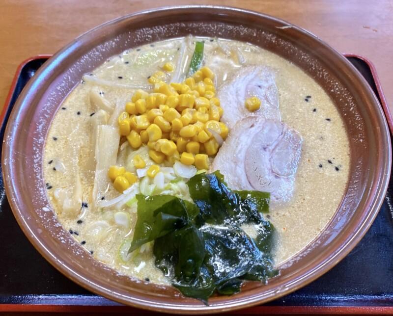 ラーメン大学 平沢店 秋田県にかほ市平沢 マヨネーズラーメン みそ 味噌味