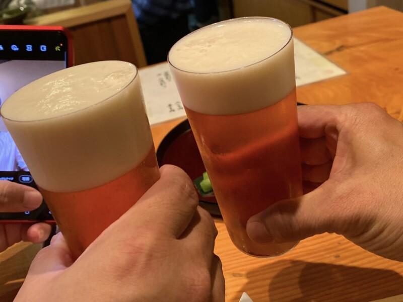 日本料理たかむら 秋田県秋田市大町 乾杯 生ビール ガージェリーエステラ