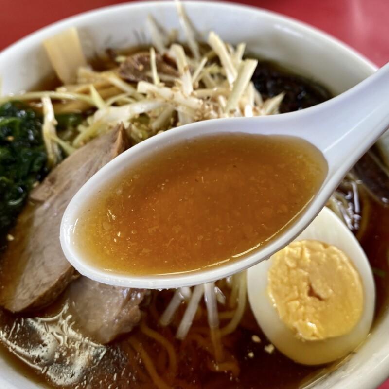 ラーメンショップ 飯島店 秋田県秋田市飯島 冷しラーメン スープ