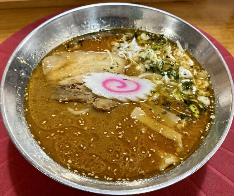 麺屋 居間人 Leap いまじん リープ 山形県天童市東芳賀 濃厚味噌らーめん