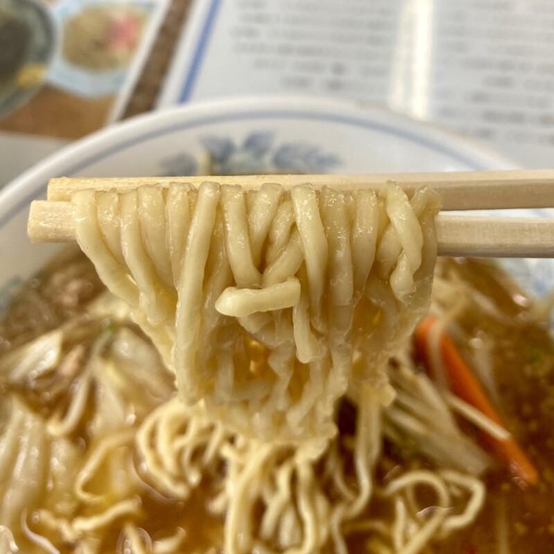 山忠 城南店 やまちゅう 山忠食堂 青森県弘前市 味噌ラーメン 自家製麺