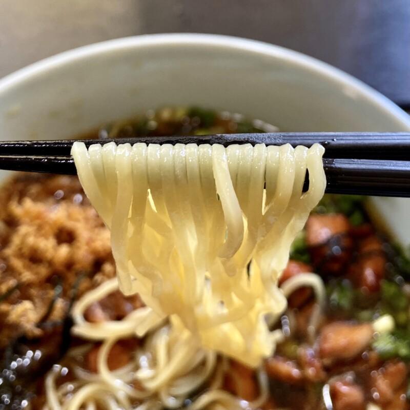 美味三昧 魯句彩亭 ろくさいてい 秋田県横手市婦気大堤 冷やし鶏中華 冷たい醤油ラーメン 麺