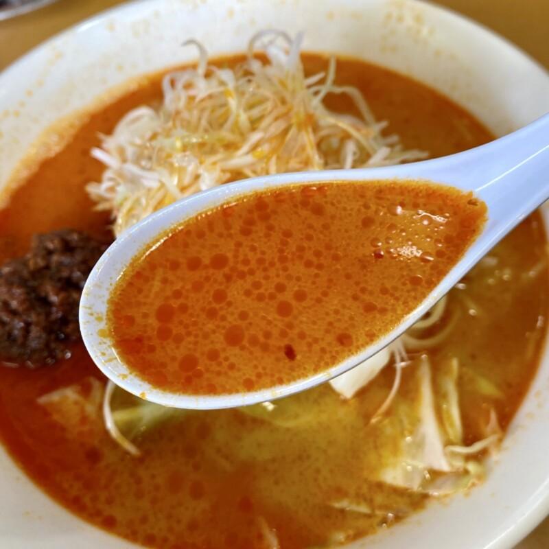 佐野家 さのや 岩手県滝沢市鵜飼 担々麺 担タン麺 スープ
