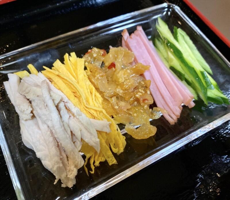 和風レストラン 都亭 みやこてい 秋田県能代市柳町 プラザ都内 中華つけ麺 具