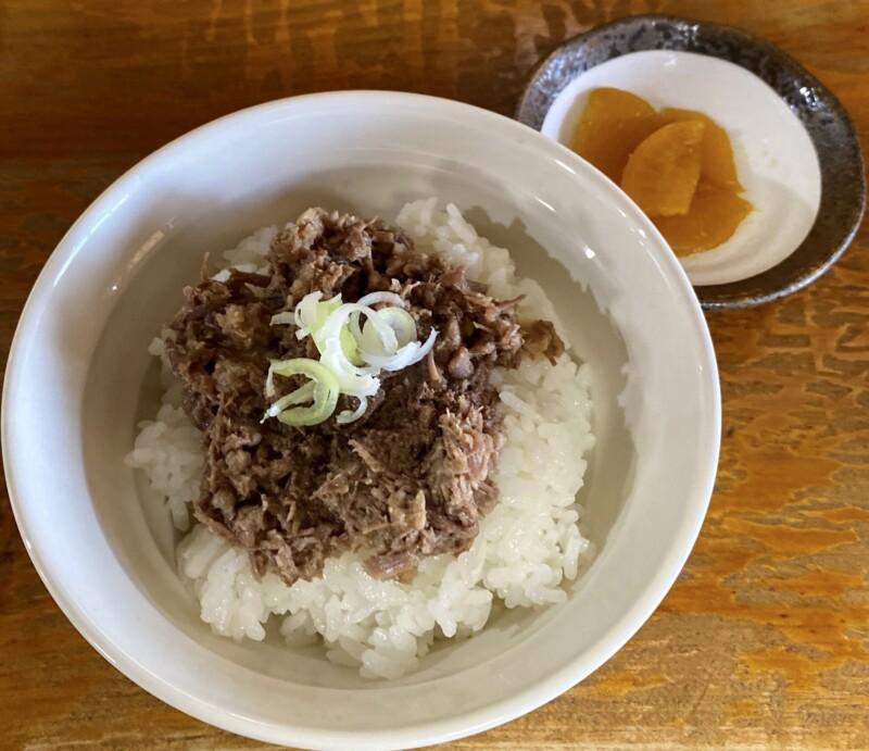 大館馬太郎 能代店 秋田県能代市花園町 馬丼(ミニ)